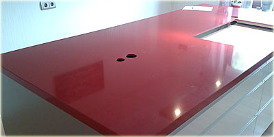 Küchenarbeitsplatte Rot | poolami.com | {Küchenarbeitsplatte rot 2}