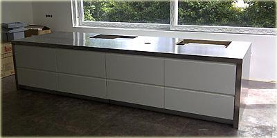 edelstahl-arbeitsplatten ::. - Küche Mit Edelstahl Arbeitsplatte