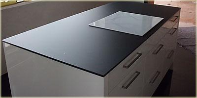 Glas arbeitsplatte küche  Glas-Arbeitsplatten ::.