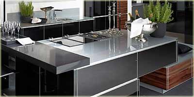 arbeitsplatten f r die k che. Black Bedroom Furniture Sets. Home Design Ideas